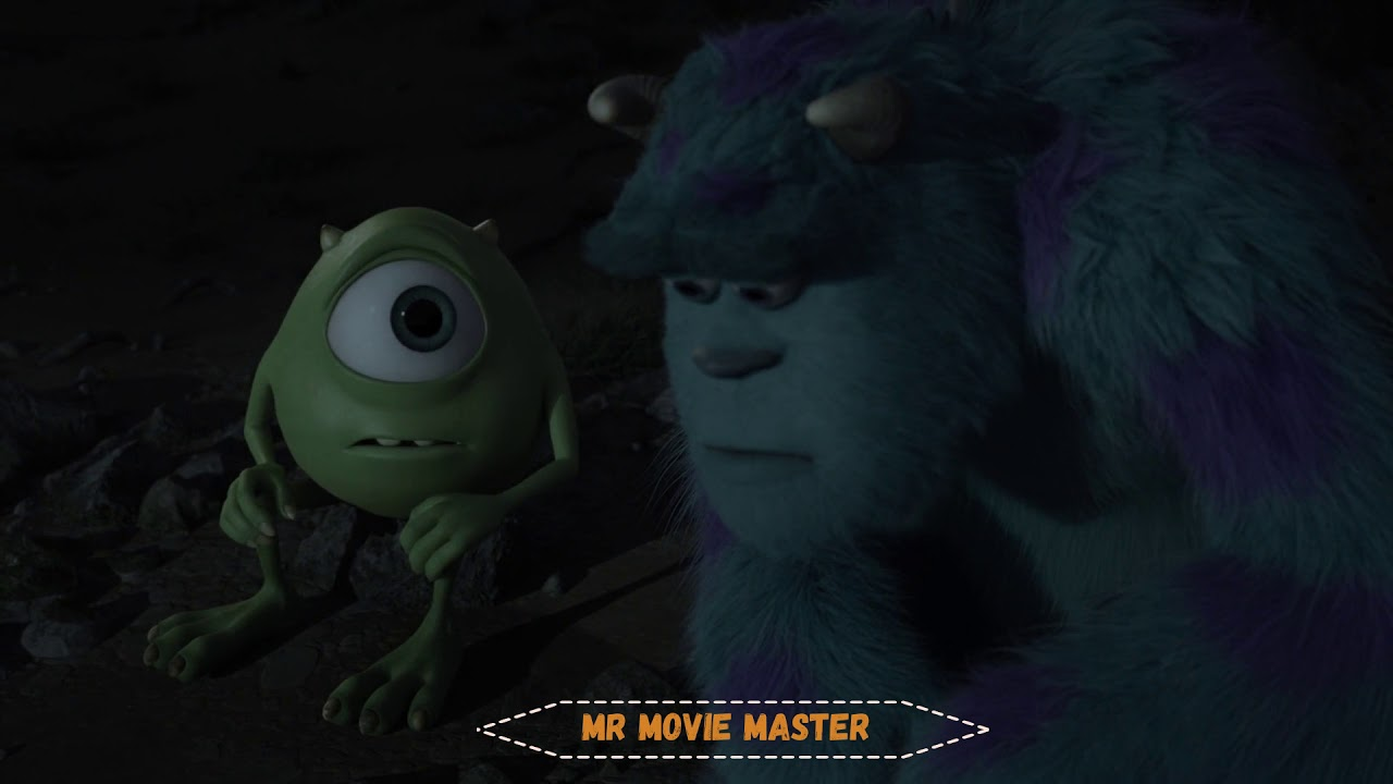 Download Monsters University.  (3-6) HD best part