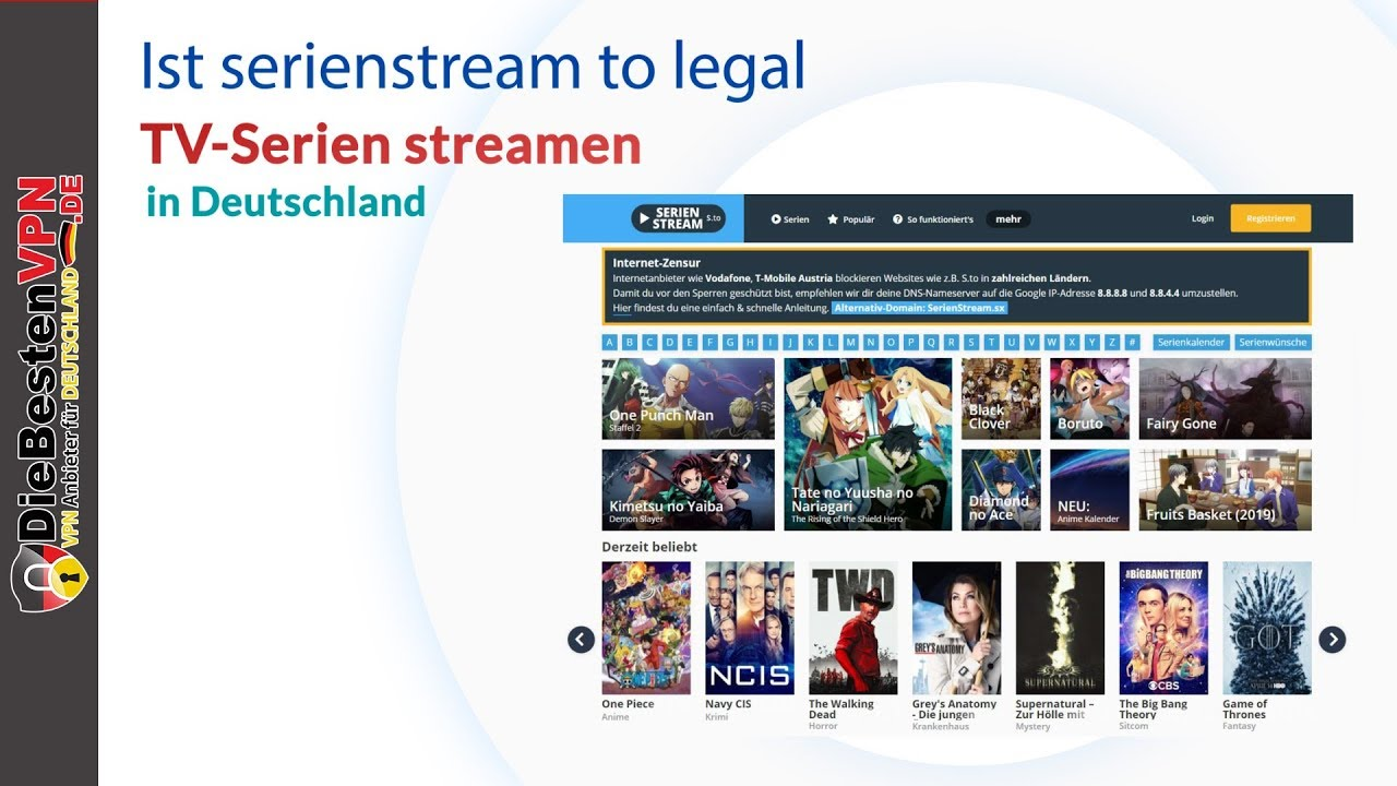 Serienstream To Legal