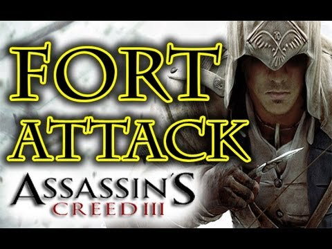 Assassin's Creed 3 - Fort Hill Attack HD