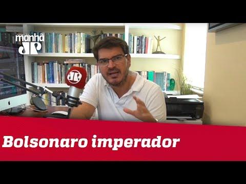 Acham que Bolsonaro foi eleito para imperador absolutista   Rodrigo Constantino