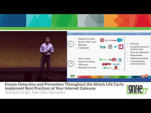 Ensure Detection and Prevention Throughout the Attack Life Cycle