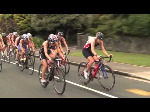 2015 New Plymouth ITU World Cup - Elite Women's Highlights