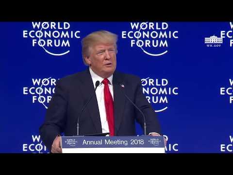 President Trump Addresses the World Economic Forum (ESPAÑOL)