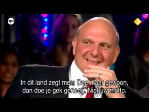 Steve Ballmer - College Tour Full Interview 2011 (Part 1/3)