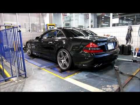 sl55 amg performance package chassis dynamometer at sab. Black Bedroom Furniture Sets. Home Design Ideas