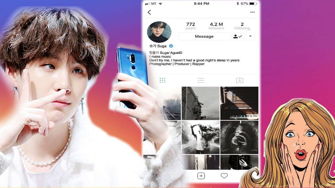 Bts V Instagram Followers