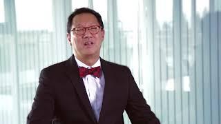 Professor Santa Ono congratulates the 2017 UBC Killam Laureates