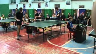 видео Играть в настольный теннис в Барнауле