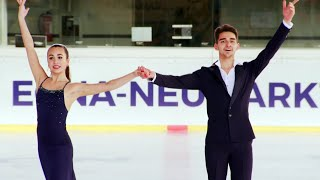 Елизавета Худайбердиева и Андрей Филатов лидируют по итогам короткой программы!
