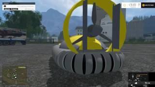 Link: http://www.modhoster.de/mods/hovercraft http://www.modhub.us/farming-simulator-2015-mods/hovercraft-v1-0/