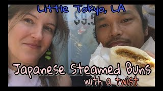 What was that??? Steamed Buns with a Twist in Little Tokyo, Los Angeles | Kelsey_tube