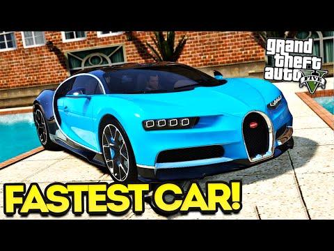 GTA 5 Mods - Bugatti Chiron vs The Flash?!