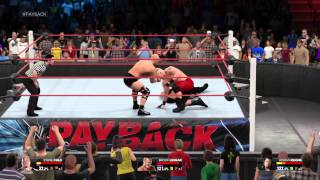 WWE 2K15 playing with friends. Roman Reigns super lag