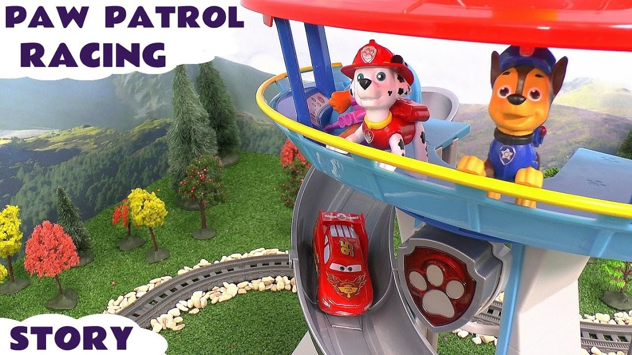 Toy Story  Race Car Track