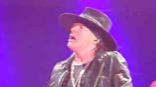 AC/DC feat Axl Rose - You Shook Me All Night Long  Sep 2 2016 Atlanta