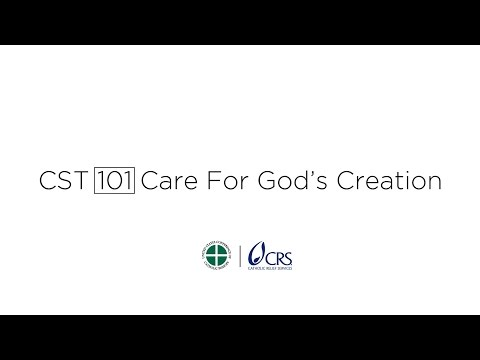 CST 101   Care for God's Creation