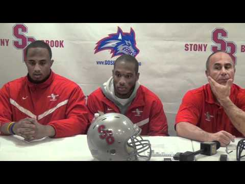 Stony Brook football press conference - Liberty game