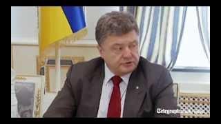 Malaysia Airlines: Ukraine President calls plane crash an