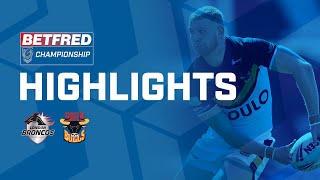 Highlights | London Broncos v Bradford Bulls | Betfred Championship