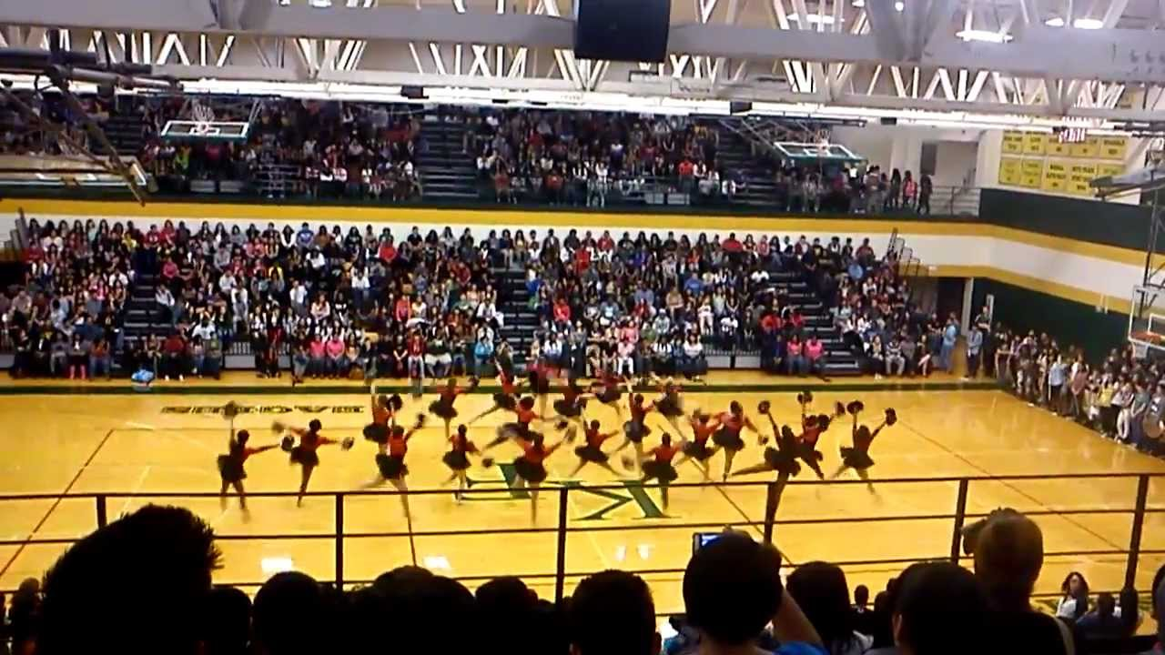Klein Forest High School Pep Rally 2/8 - YouTube