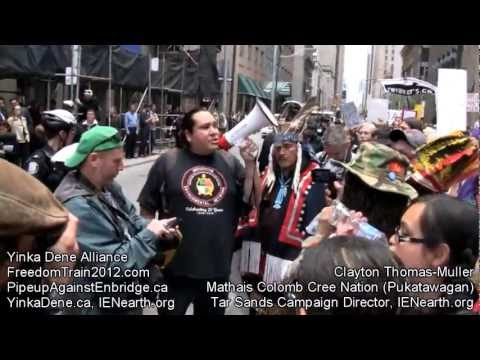 YDA Freedom Train 2012 Toronto: March & Protest (2 Of 3)