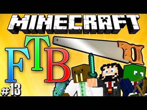 "Minecraft: Feed the Beast #13 ""Micro Blocks!"""