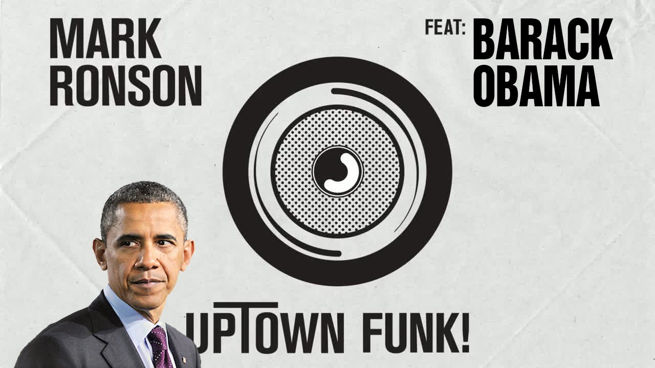 barack obama singing uptown funk by mark ronson ft bruno mars
