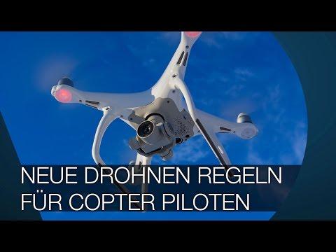 Neue Drohnen Regeln I Gesetze für Copter-Piloten I Jan 2017 in Deutschland