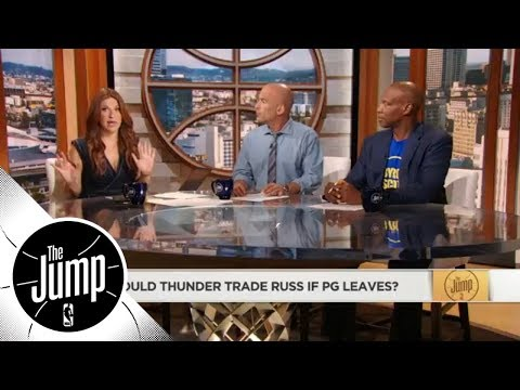 If Paul George leaves Thunder, would they trade Russell Westbrook?   The Jump   ESPN