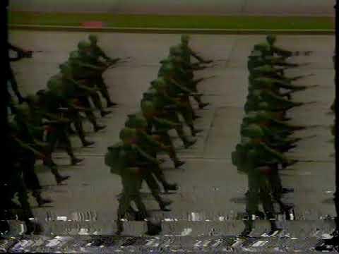 Desfile militar del 5 de Julio de 1984...Contingente ALFA 84... 2da Parte