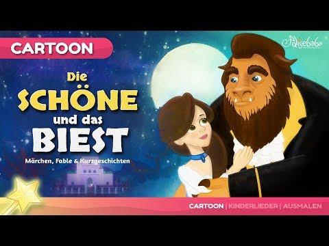 Die Schöne und das Biest kinder geschichte - Märchen für Kinder und Gute Nacht Geschichten