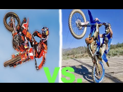 RYAN DUNGEY VS. JOEY MAC (BATTLE AT THE TRACK)