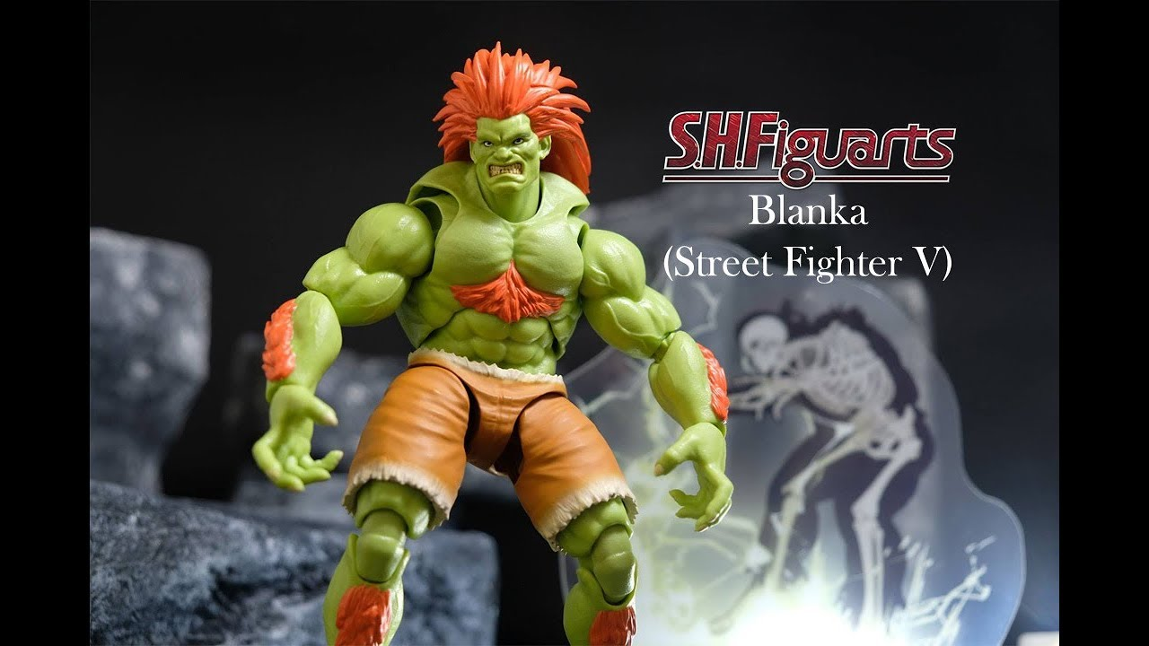 Figuarts Blanka Street Fighter Bandai  Action Figure NEW IN STOCK USA S.H