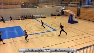 Sverresborg Hoops - AIK - Copenhagen Invitational 2018 - Boys 04