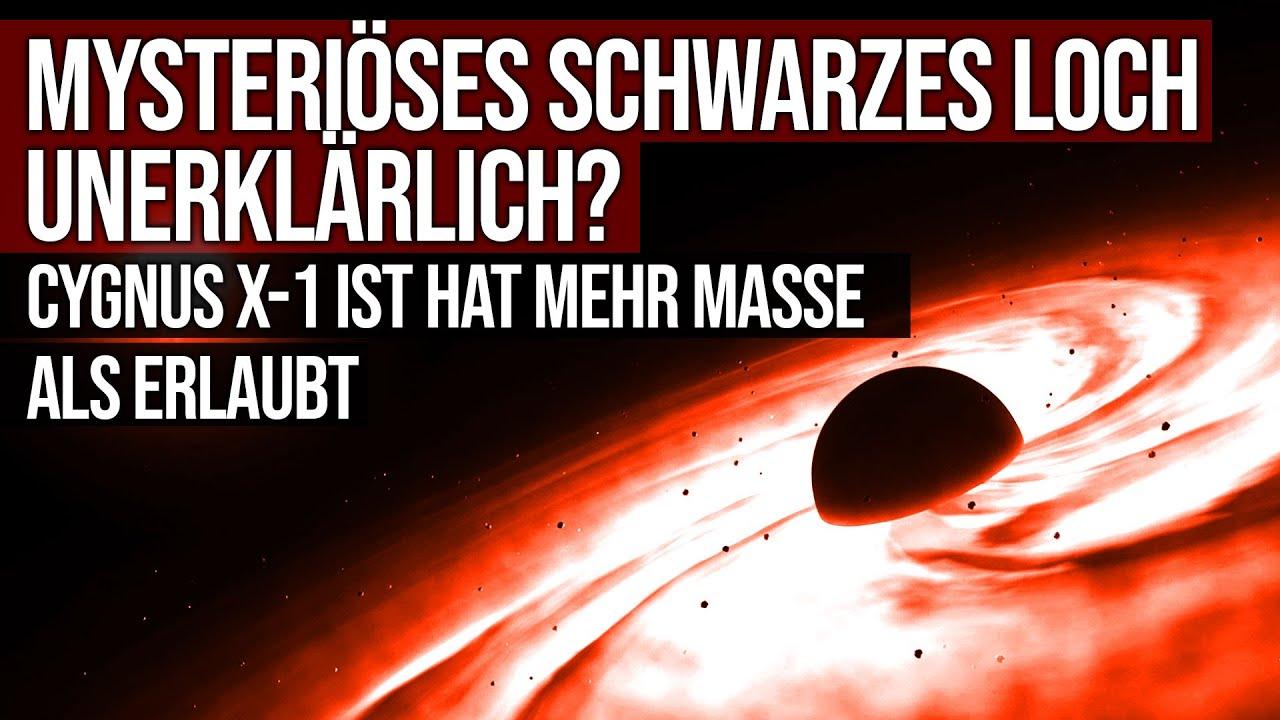 Mysteriöses schwarzes Loch unerklärlich? - Cygnus X-1 hat mehr Masse als erlaubt