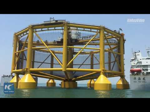 World's first semi-submersible automated offshore fish farm leaves for Norway