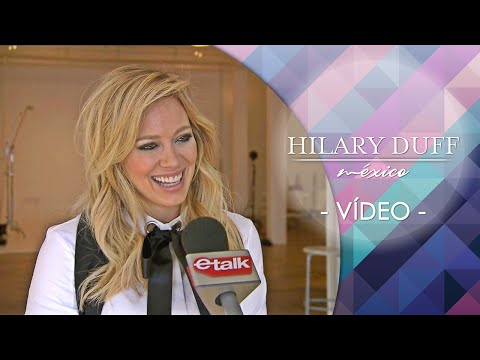 ETalk Is On-set Of HilaryDuff's New Photoshoot With ELLE Canada