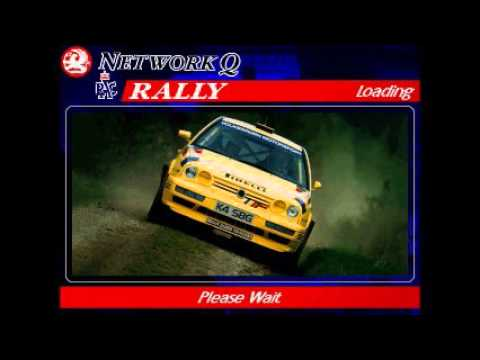 Network Q Rac Rally Game - VW Golf GTI - All 28 Stages