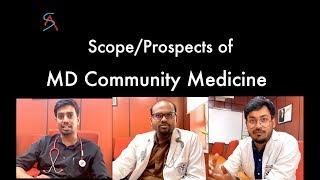 Career scope (Prospects) of MD Community Medicine/PSM || AIIMS New Delhi