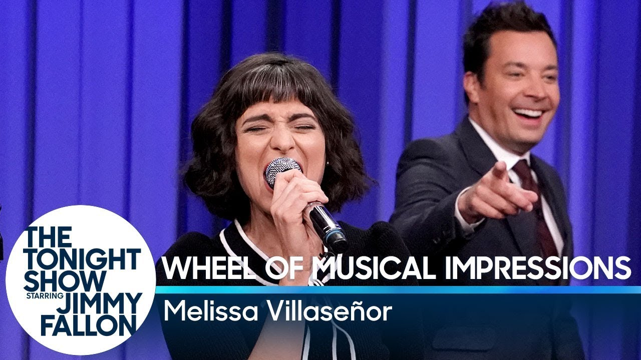 Wheel of Musical Impressions with SNL's Melissa Villaseñor