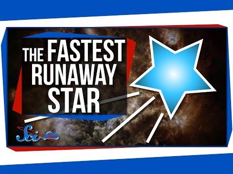 The Fastest Runaway Star In The Galaxy