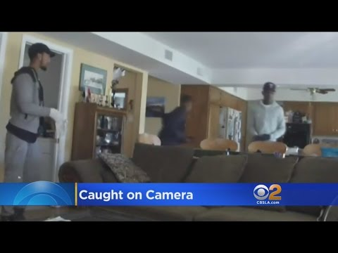 Calabasas Homeowner Hopes Security Video Will Lead To Capture Of 3 Burglary Suspects