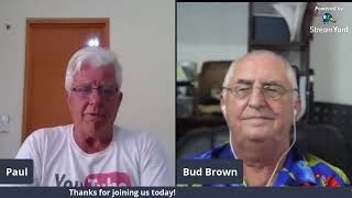 Paul and Bud Brown in Dumaguete  Philippines