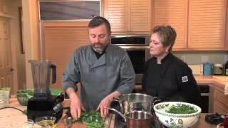 Chef Mark Cleveland Makes Zhug Hot Sauce W/ Cathy Thomas