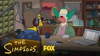 Krusty Is On A Radio Show | Season 30 Ep. 14 | THE SIMPSONS
