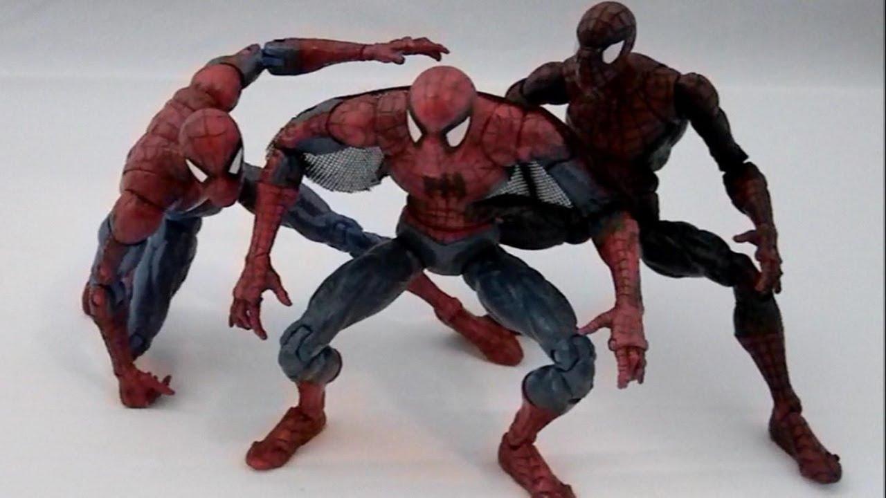 Spider Man Mcfarlane Style Toy Biz Series 12 Superposeable Marvel