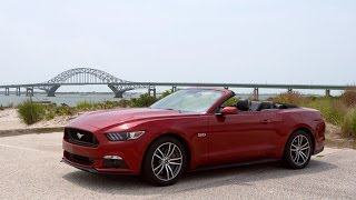 2015 Ford Mustang GT Convertible Review: Souped-Up But Stiff