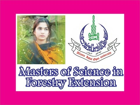 allama-iqbal-open-university,-aiou-m.sc-forestry-extension,-masters-of-science-in-forestry-extension