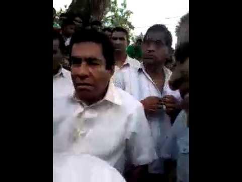 Mervin Silva visits aluthgama after the clash