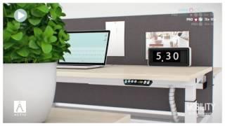 Actiu - Mobility - Sit / Stand Desk - europadesign.hu